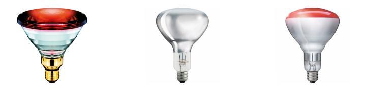 Infrarot und medizinische Lampen