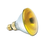Sylvania PAR38 Farbe E27 80W 240V 30° gelb SL Speziallampe - 10 Stück