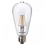 Sylvania ToLEDo Retro ST64 E27 4W 470lm 827 KL SL LED-Lampe - 1 Stück EEK: A++