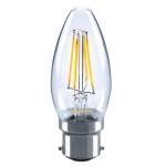 Sylvania ToLEDo Retro Kerze B22 4W 420lm 827 KL SL LED-Lampe - 1 Stück EEK: A++