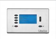Sylvania Blende Stahl gebürstet für DMX Steuermodul LCD Wandmontage Lichtmanagement-System - 1 Stück