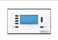 Sylvania Blende weiß für DMX Steuermodul LCD Wandmontage Lichtmanagement-System - 1 Stück