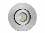 Sylvania Synergie LED 5,5W 830 CDim Alu. gebürstet Leuchte Sylvania - 6 Stück