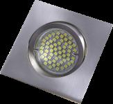 mlight Einbaustrahler-Aluminium eckig FT-92155 Bajo., Farbe, CR