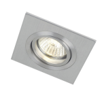 mlight Einbaustrahler-Aluminium eckig