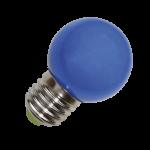 mlight LED-Tropfen, 0, 65W, 230V, E27, blauK, 120°, 2, 5lm, 10000h, , nicht dimmbar