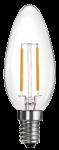 mlight LED-Kerze Fadenlampe, 2W, 230V, E14, 2700K, 300°, 210lm, 10000h, A++, nicht dimmbar