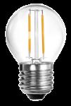 mlight LED-Tropfen Fadenlampe, 2W, 230V, E27, 2700K, 300°, 210lm, 10000h, A++, nicht dimmbar