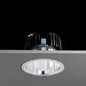 Concord Ascent 150 LED rund 25W 830 Refl. Alu Leuchte Concord - 1 Stück