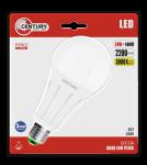 Century LED A80 ARIA PLUS - 80x160mm - 24W - E27 - 3000K - 2200Lm - IP20 - Blister 1er