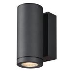SLV ENOLA ROUND S single Outdoor LED Wandaufbauleuchte anthrazit