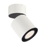 SLV SUPROS MOVE CL Indoor LED Deckenaufbauleuchte, rund, weiß, 3000K, 60° Reflektor, CRI90, 2600lm