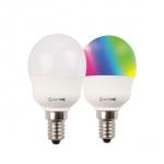LM RGB/W P45 5.5W-470lm-E14/827 incl. remote control