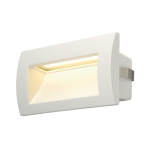 SLV DOWNUNDER OUT LED M Outdoor Wandeinbauleuchte, LED, 3000K, weiß