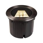SLV DASAR® 270 Outdoor LED Bodeneinbauleuchte, 4000K, rund, IP67, asymmetrische Abstrahlung
