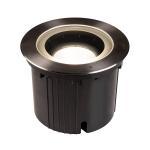 SLV DASAR® 270 Outdoor LED Bodeneinbauleuchte, 3000K, rund, IP67, symmetrische Abstrahlung