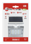Century LED Solar Wandlampe ARCADIA - 1,5W - silber