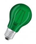 Osram LED STAR DÉCOR CLASSIC A, Farbige LED-Lampen, klassische Kolbenform, mit Schraubsockel
