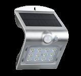 Century LED Solar Wandlampe ARCADIA - 1.5W - silber