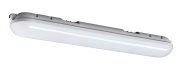 mlight LED-Feuchtraumleuchte IP 65 2 flammig,36W,230V,4000K,180°,5400lm,40000h,A+,nicht dimmbar,Farbe,grau