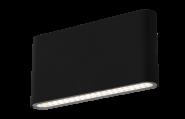 Century LED Wandleuchte schwarz - 12W