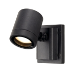 SLV Außen Wand- und Deckenleuchte MYRA WALL , einflammig, QPAR51, IP55, anthrazit, max. 50W