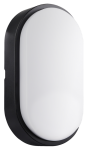 Century LED Wandlampe OASI oval schwarz