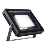 SLV SPOODI 31 Outdoor Strahler, LED, 4000K, IP55, eckig, schwarz, 55W