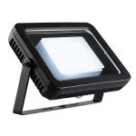 SLV SPOODI 20 Outdoor Strahler, LED, 4000K, IP55, eckig, schwarz, 28W