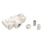 SLV PENDELLEUCHTENADAPTER für Hochvolt-Stromschiene 3Phasen, verkehrsweiss, inkl. Montagezubehör