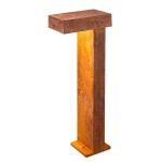 SLV RUSTY PATHLIGHT 70 LED Outdoor Stehleuchte, rost farbend, IP55, 3000K