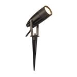 SLV SYNA Outdoor Spiessleuchte, LED, 3000K, IP55, anthrazit, 230V, 8,6W