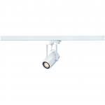 SLV EUROSPOT INTEGRATED LED, weiss, 13W, 2700K, 24°, inkl. 3P.-Adapter
