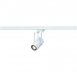 SLV EUROSPOT INTEGRATED LED, weiss, 13W, 2700K, 36°, inkl. 3P.-Adapter