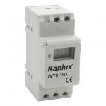 Kanlux JVT3-16AS Elektronisches Zeitprogrammiergerät mit astronomischer Funktion