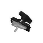 SLV MECHANISCHER ADAPTER für S-TRACK Hochvolt 3Phasen-Aufbauschiene, schwarz