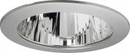 Concord 215mm Ring silber + Glasscheibe klar IP44 Leuchte Concord - 1 Stück