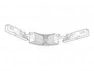 Concord Lytespan 3 DALI-Winkelverbinder flexibel weiss Leuchte Concord - 1 Stück