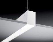 Concord Mini Continuum randlos 3,6m LED 75W 830 silber Leuchte Concord - 1 Stück