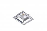 Concord Myriad quadrat. LED 15W 840 48° CDim Refl. silber Gehäuse Einzelbatterie 3h Leuchte Concord - 1 Stück