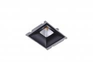 Concord Myriad quadrat. LED 15W 830 48° DALI Refl. schwarz Gehäuse Einzelbatterie 3h Leuchte Concord - 1 Stück