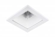 Concord Myriad quadrat. LED 15W 830 25° CDim Refl. weiss Rahmen weiss IP65 Leuchte Concord - 1 Stück