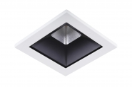 Concord Myriad quadrat. LED 15W 830 48° CDim Refl. schwarz Rahmen weiss IP65 Einzelbatterie 3h Leuchte Concord - 1 Stück
