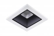 Concord Myriad quadrat. LED 15W 840 48° DALI Refl. schwarz Rahmen weiss IP65 Einzelbatterie 3h Leuchte Concord - 1 Stück