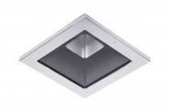 Concord Myriad quadrat. LED 15W 840 48° DALI Refl. schwarz Rahmen chrom IP65 Leuchte Concord - 1 Stück