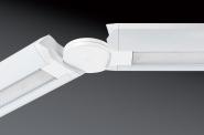 Concord Unity Winkelverbinder horizontal 180°±90° drehbar weiß Leuchte Concord - 1 Stück