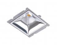 Concord Myriad quadrat. LED 15W 827 25° CDim Refl. silber Gehäuse Leuchte Concord - 1 Stück