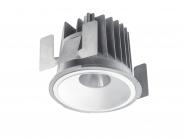 Concord Myriad rund LED 13W 830 48° CDim Refl. weiss Gehäuse Einzelbatterie 3h Leuchte Concord - 1 Stück