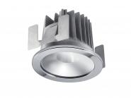 Concord Myriad rund LED 13W 830 25° DALI Refl. silber Ring chrom IP65 Leuchte Concord - 1 Stück
