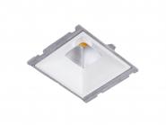Concord Myriad quadrat. LED 15W 827 25° DALI Refl. weiss Gehäuse Leuchte Concord - 1 Stück
